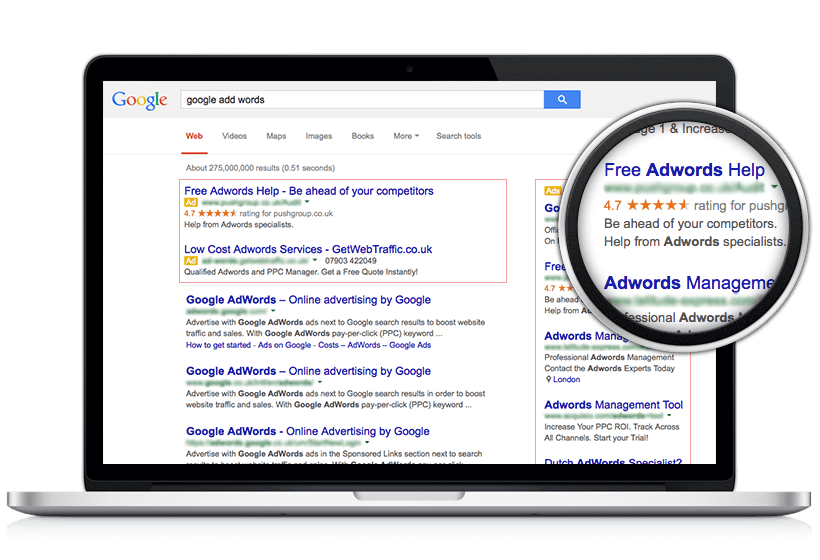 """Google AdWords"" reklama"